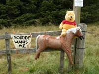 Nobody wants me - a protest about the rubbish dumped in the countryside