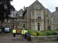 Outside Clennell Hall