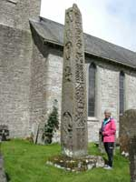 Cross shaft at Bewcastle