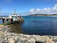 Ferry on Eriskay