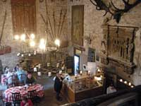 Chillingham castle cafe