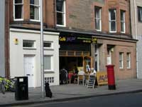 Braw cafe, Edinburgh