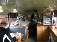 Bus cafe, Honey Farm, Chain Bridge