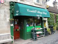 Cornhill Village shop and cafe